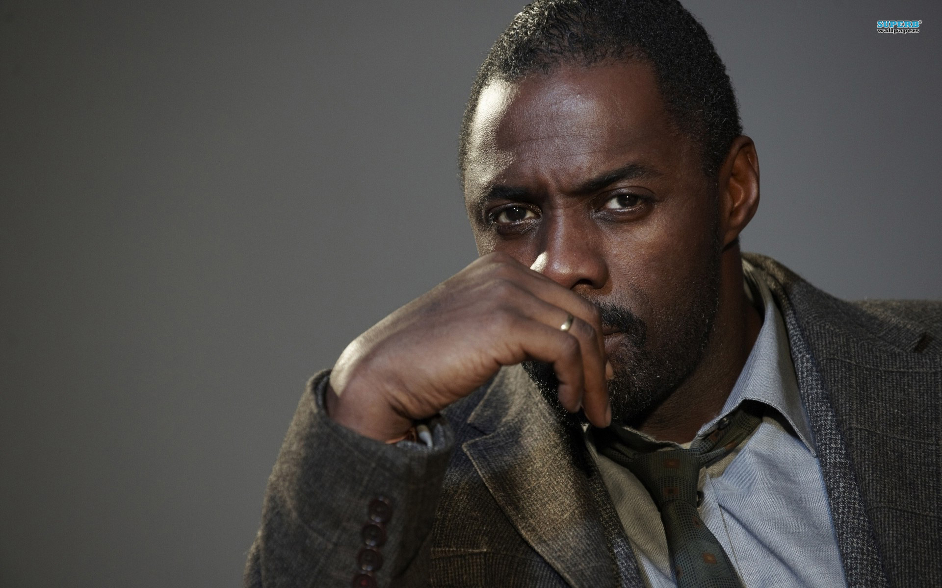 Idris Elba played Stringer in the HBO's hit show 'The Wire,' but rarely watched the show because he was too critical of his own work.