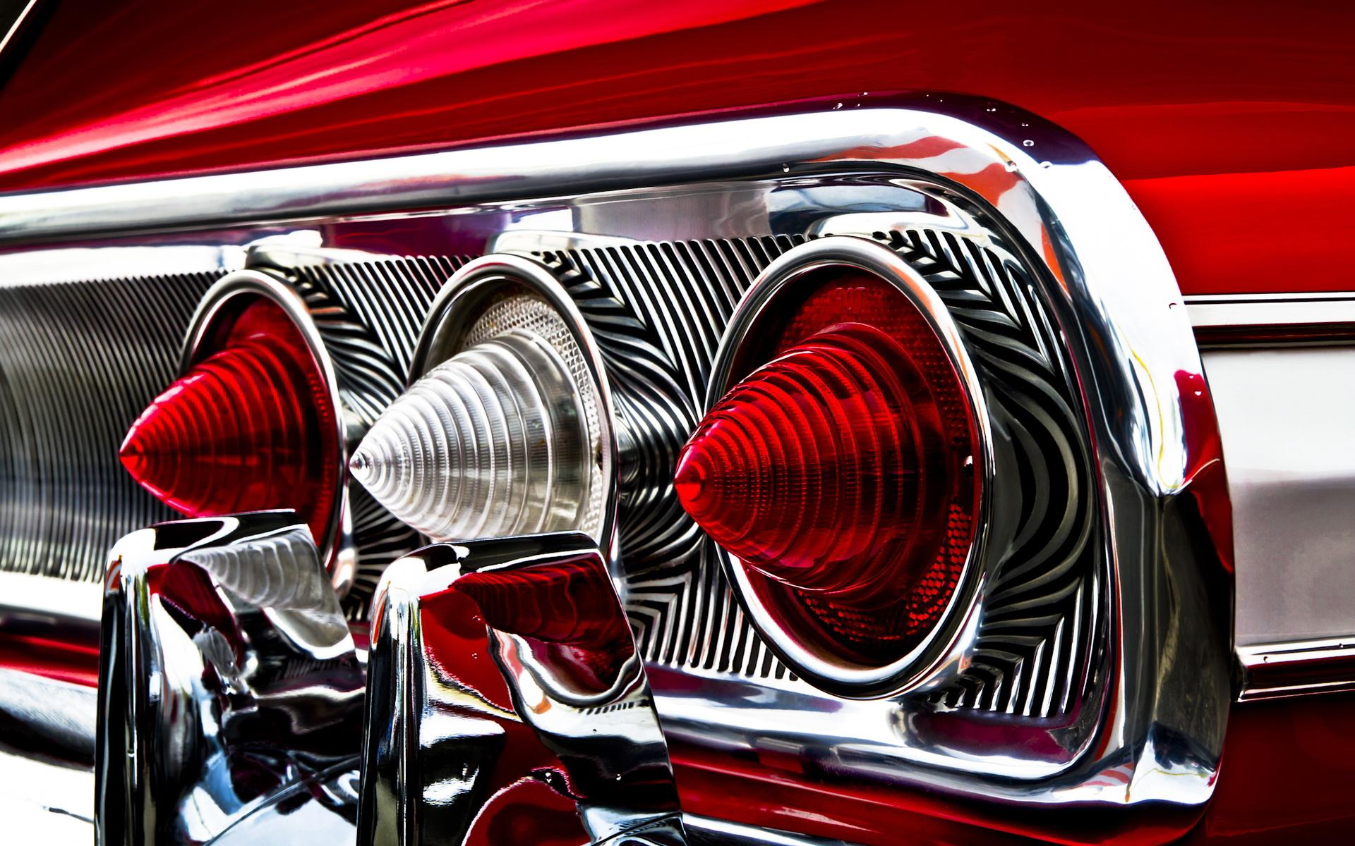Impala Rear Lights Wallpaper