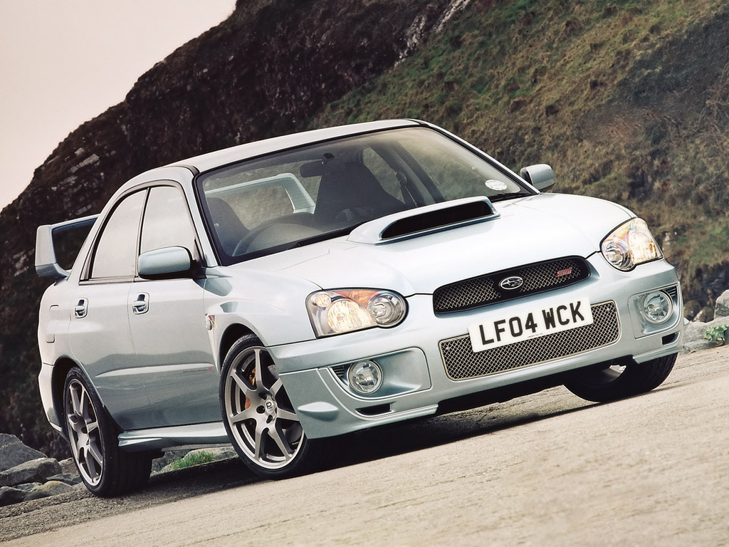 Picture of 2004 Subaru Impreza WRX STi 4 Dr Turbo AWD Sedan, exterior