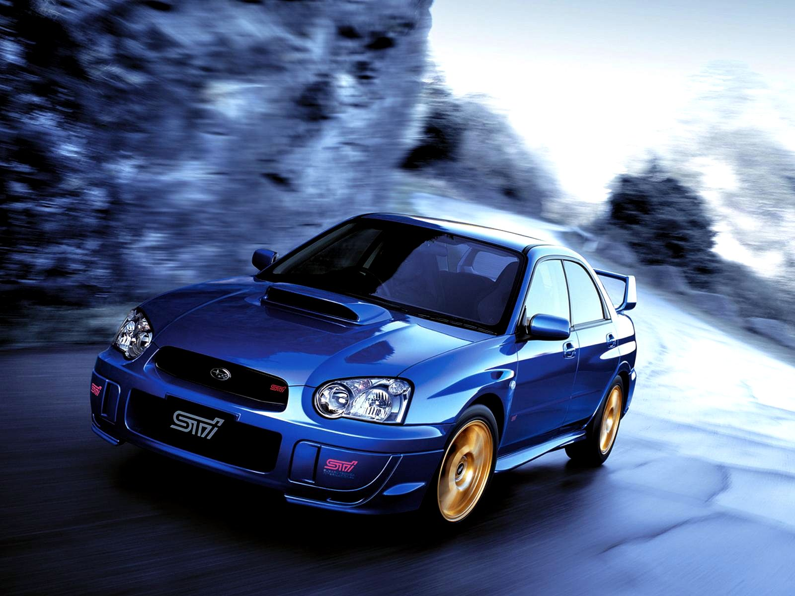 Subaru Impreza WRX Sti 2004. Res: 1600x1200 / Size:203kb. Views: 85660