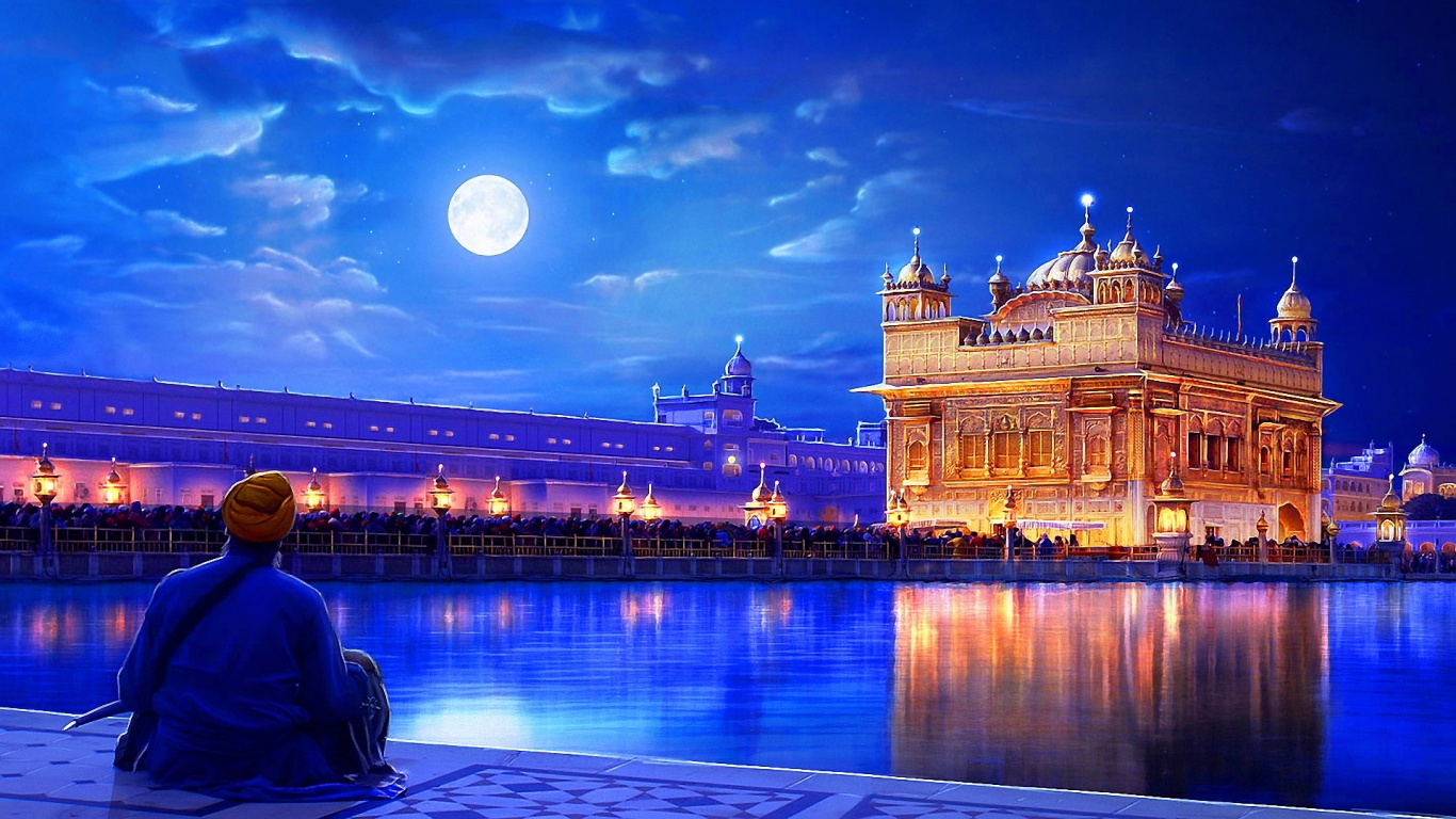 India Fantasy Wallpaper