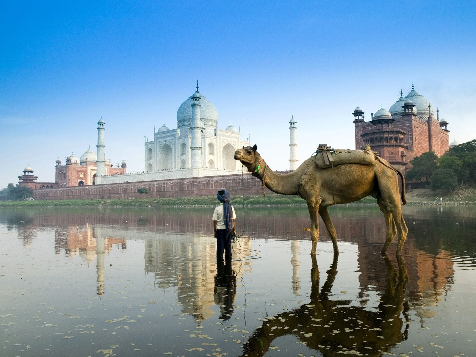 Yamuna River Agra India