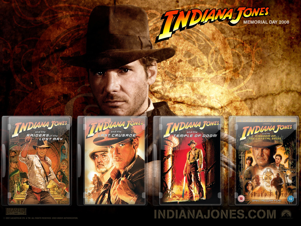 Indiana Jones DVD Case Pack by gandiusz ...