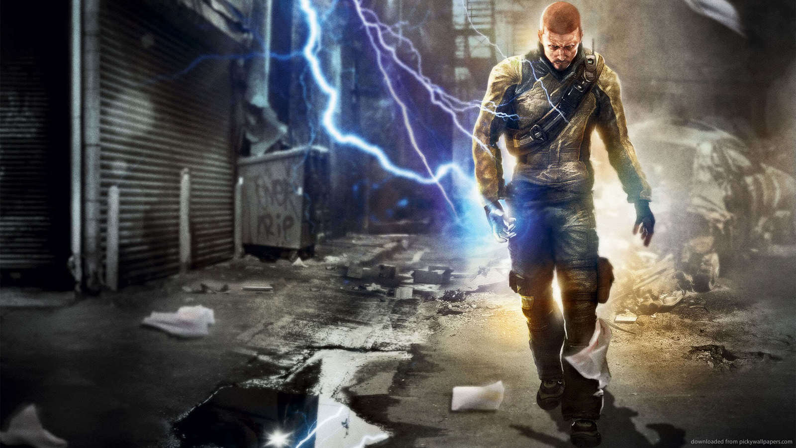 View And Download Infamous 2 Wallpapers