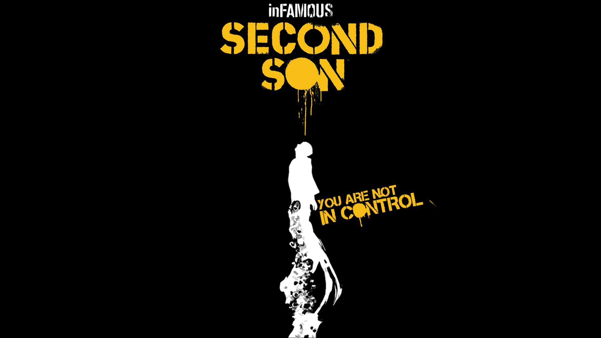 Infamous Second Son Logo Wallpaper