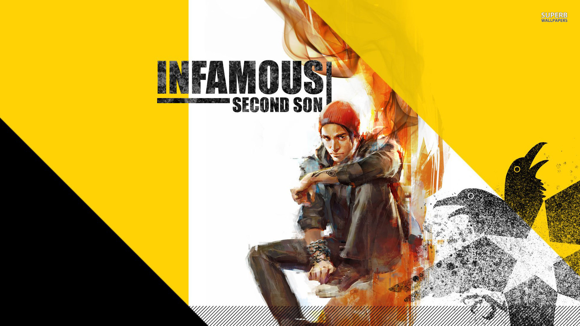 Delsin Rowe - InFamous: Second Son wallpaper 1920x1080
