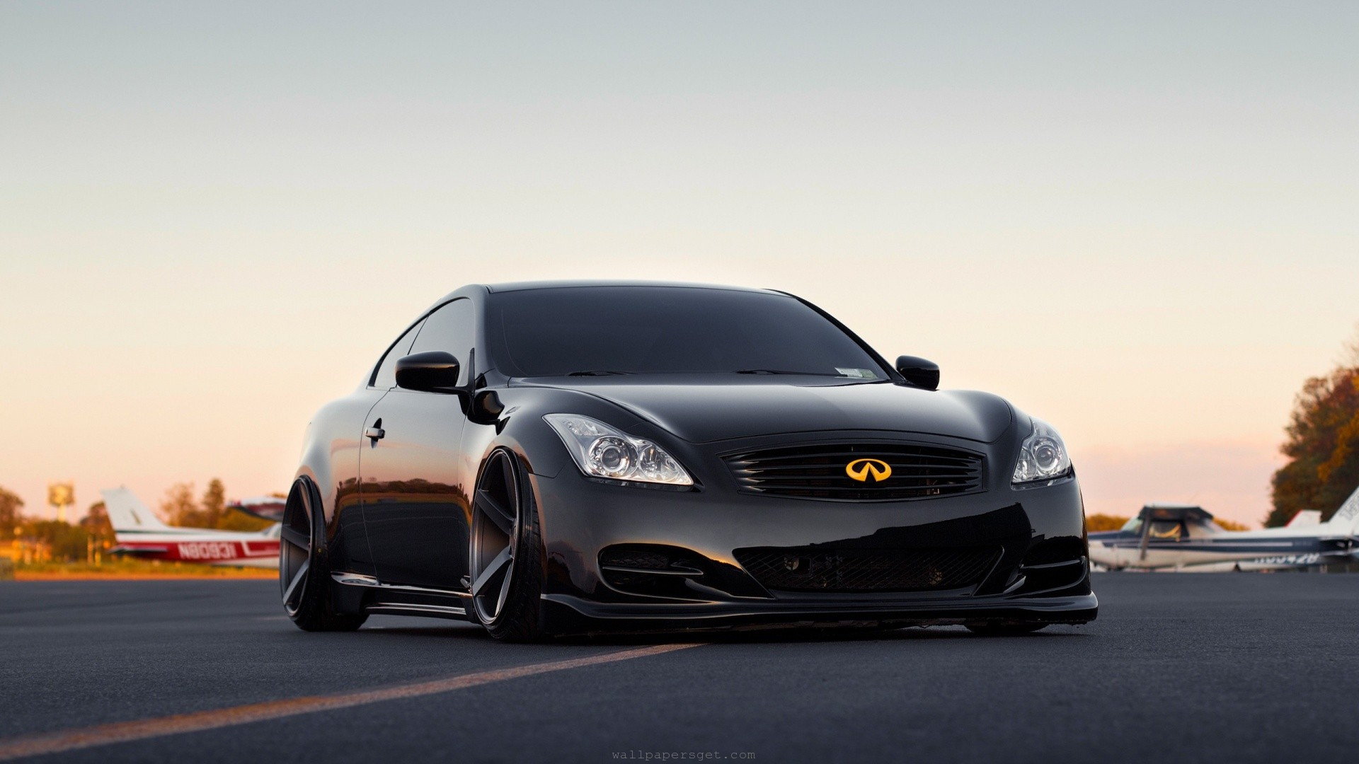 infiniti g37, vossen, wheels, HD Wallpaper