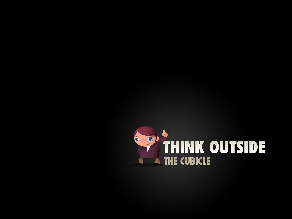 An inspirational desktop wallpaper to live by, for entrepreneurs and freelancers.
