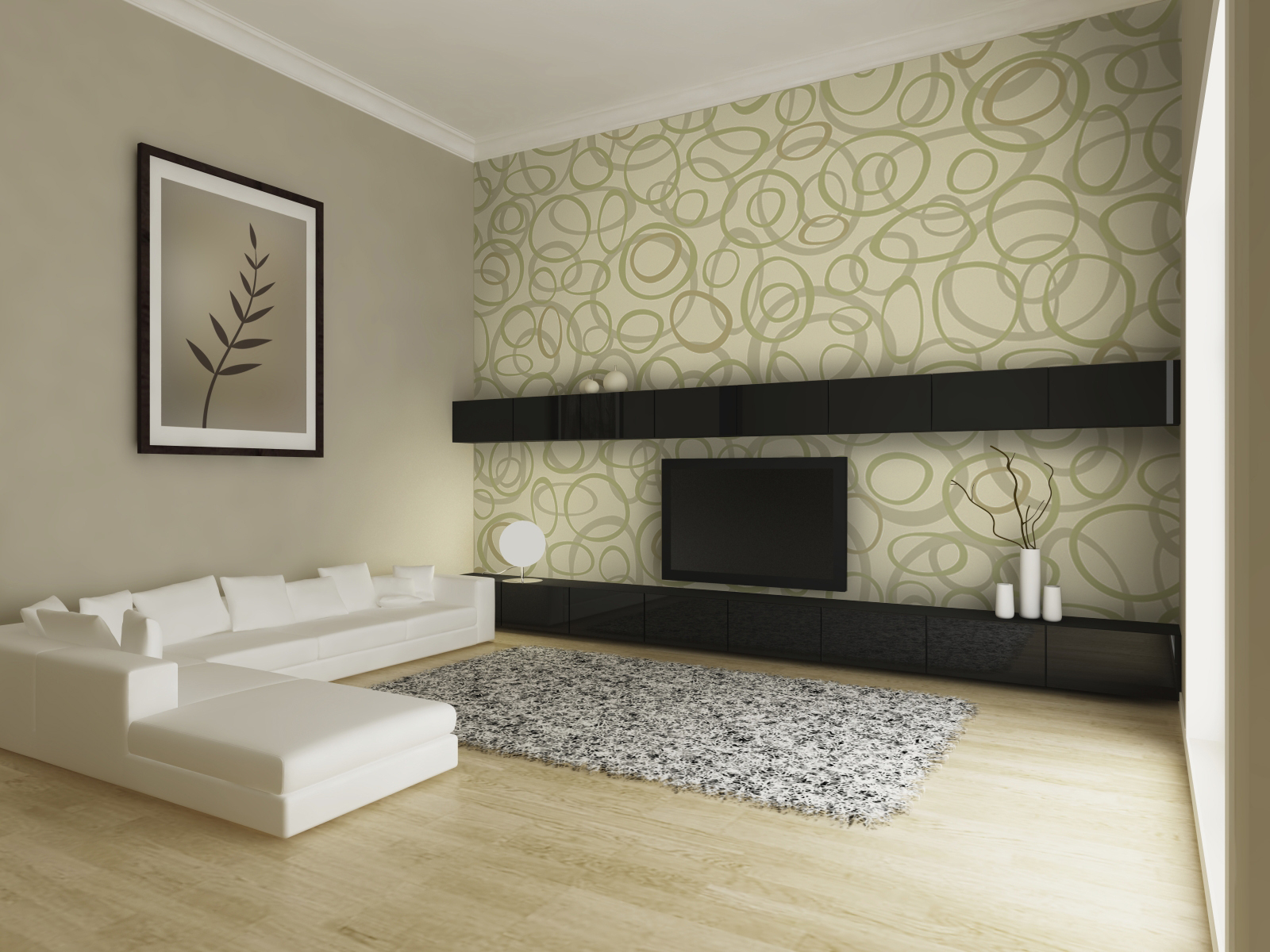 Interior design wallpaper 1600x1200 81460 for Interior wallpaper designs india