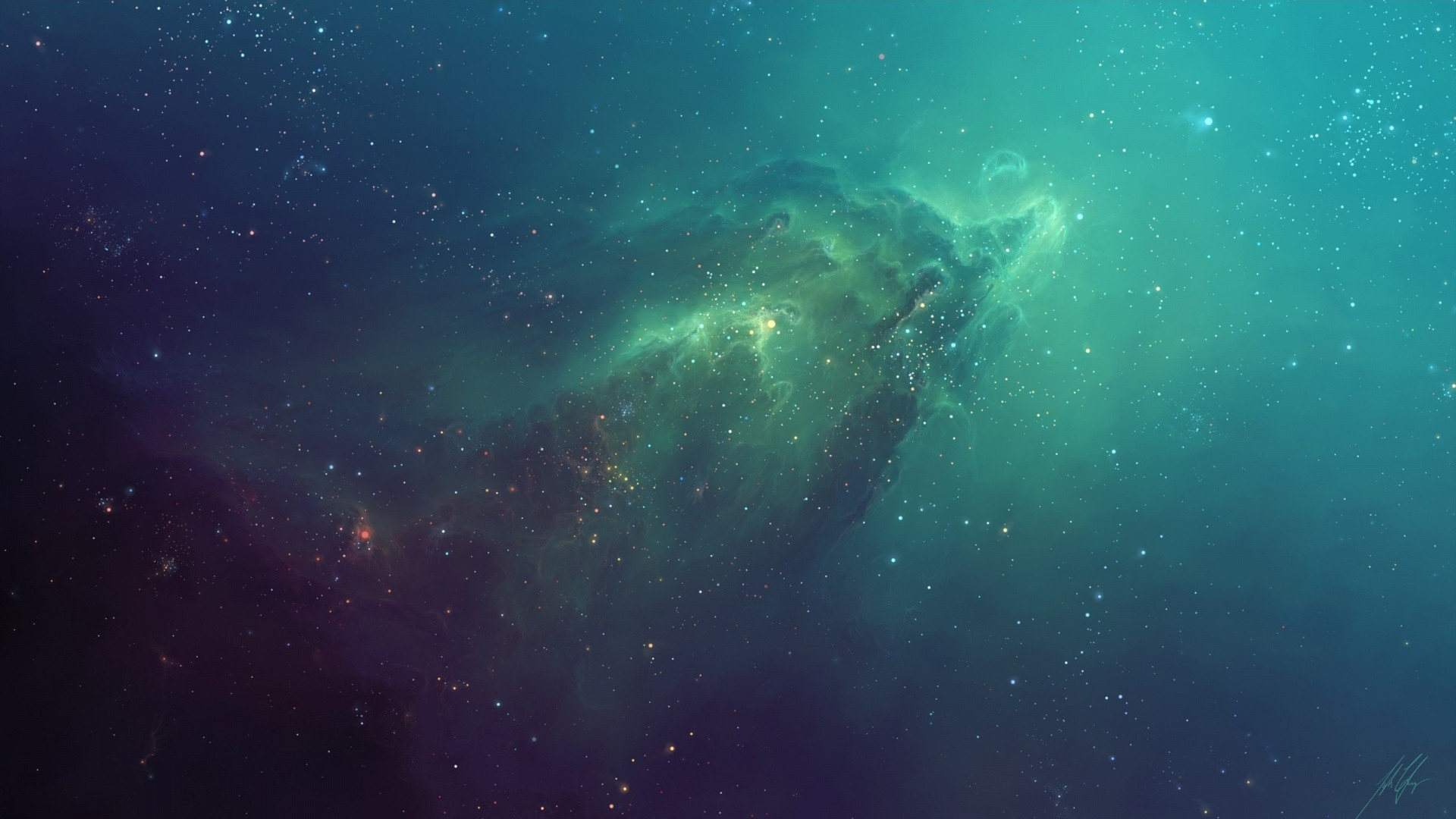 If you like nebula wallpapers similar to this, here is one I've been using on my MBP: 1920x1080