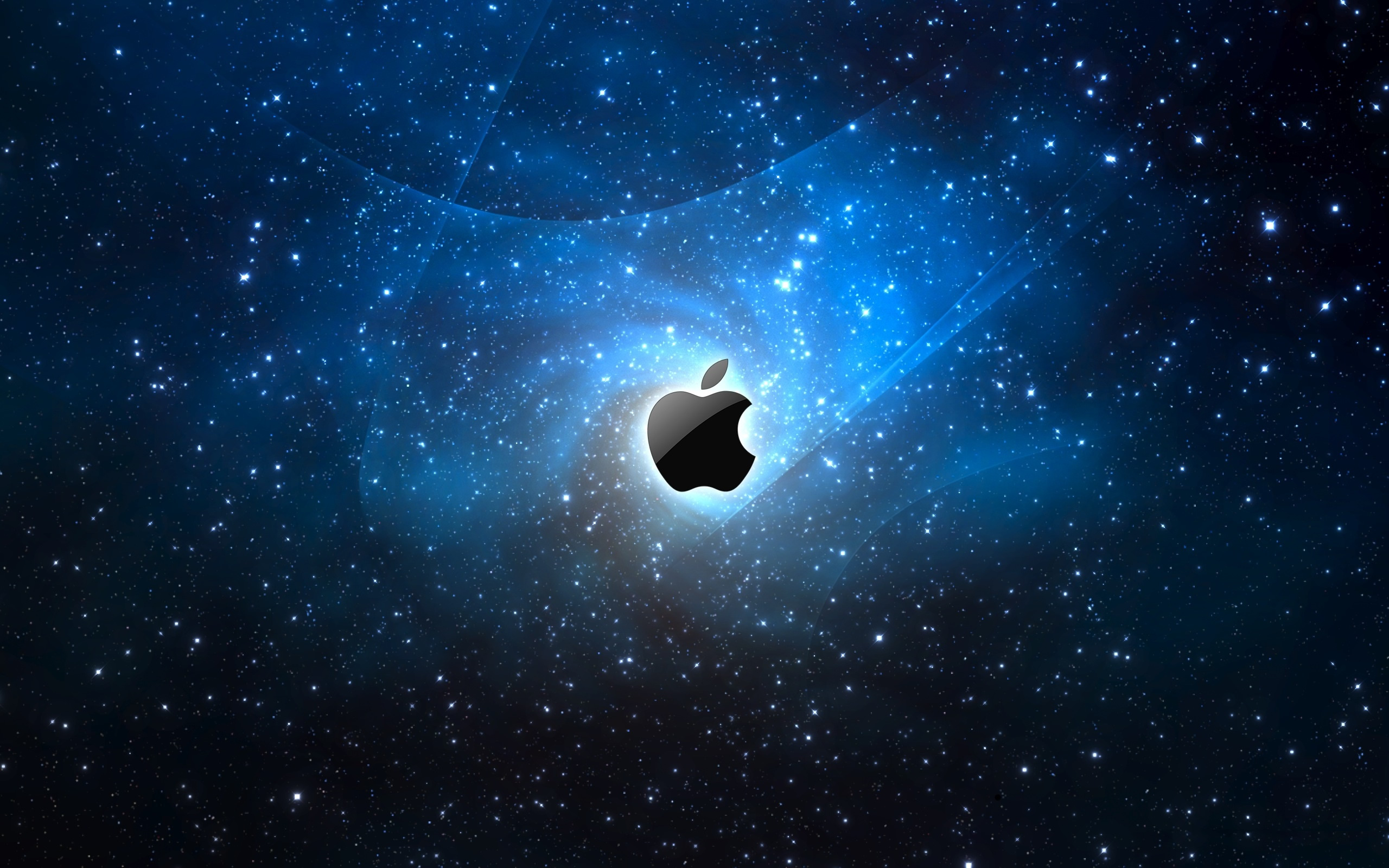 Apple Galaxy Blue iPhone Panoramic Wallpaper | Projects to Try | Pinterest