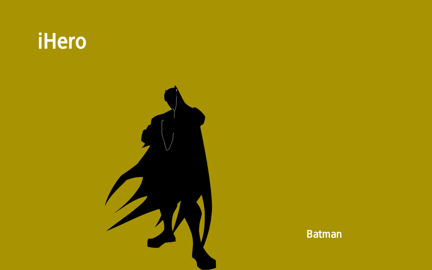 Batman ipod Wallpaper Vector