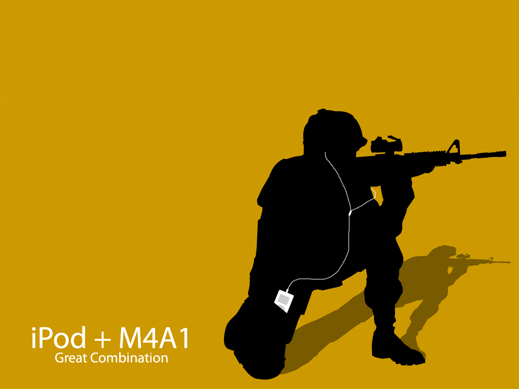 Gun Ipod Wallpaper HD