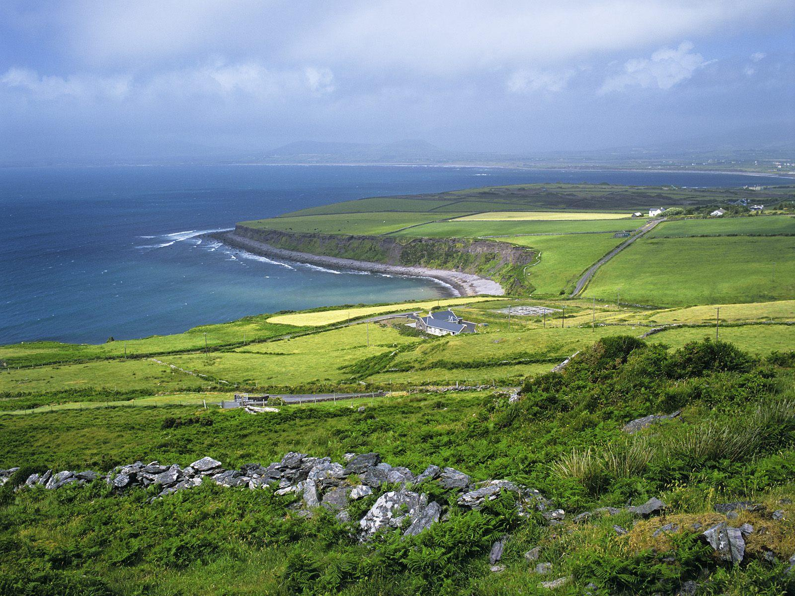 Ballinskelligs bay Ireland free wallpaper in free desktop backgrounds category: Bay-landscaping.