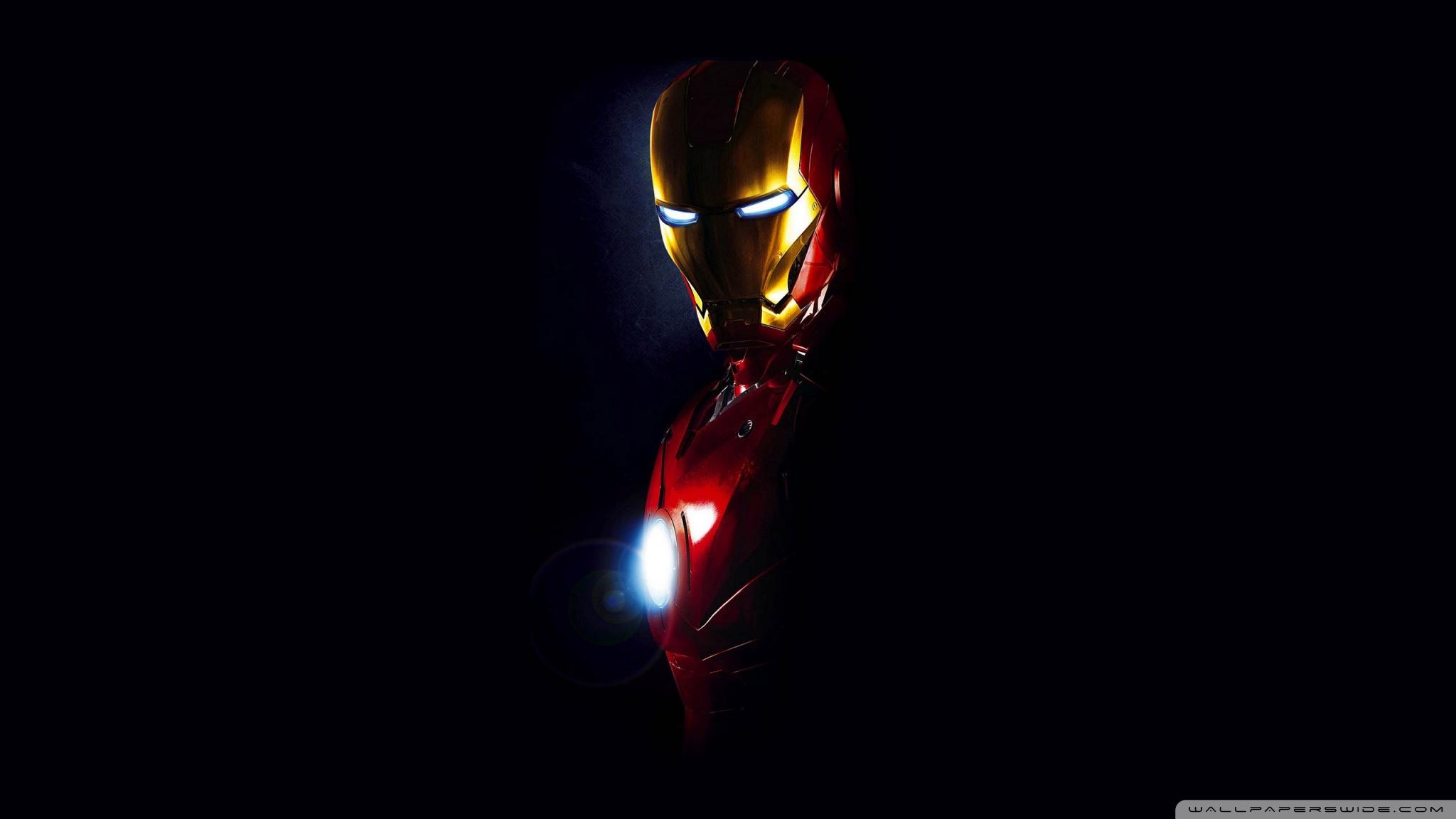 Iron Man Hd Wallpaper 2048x1152 43325