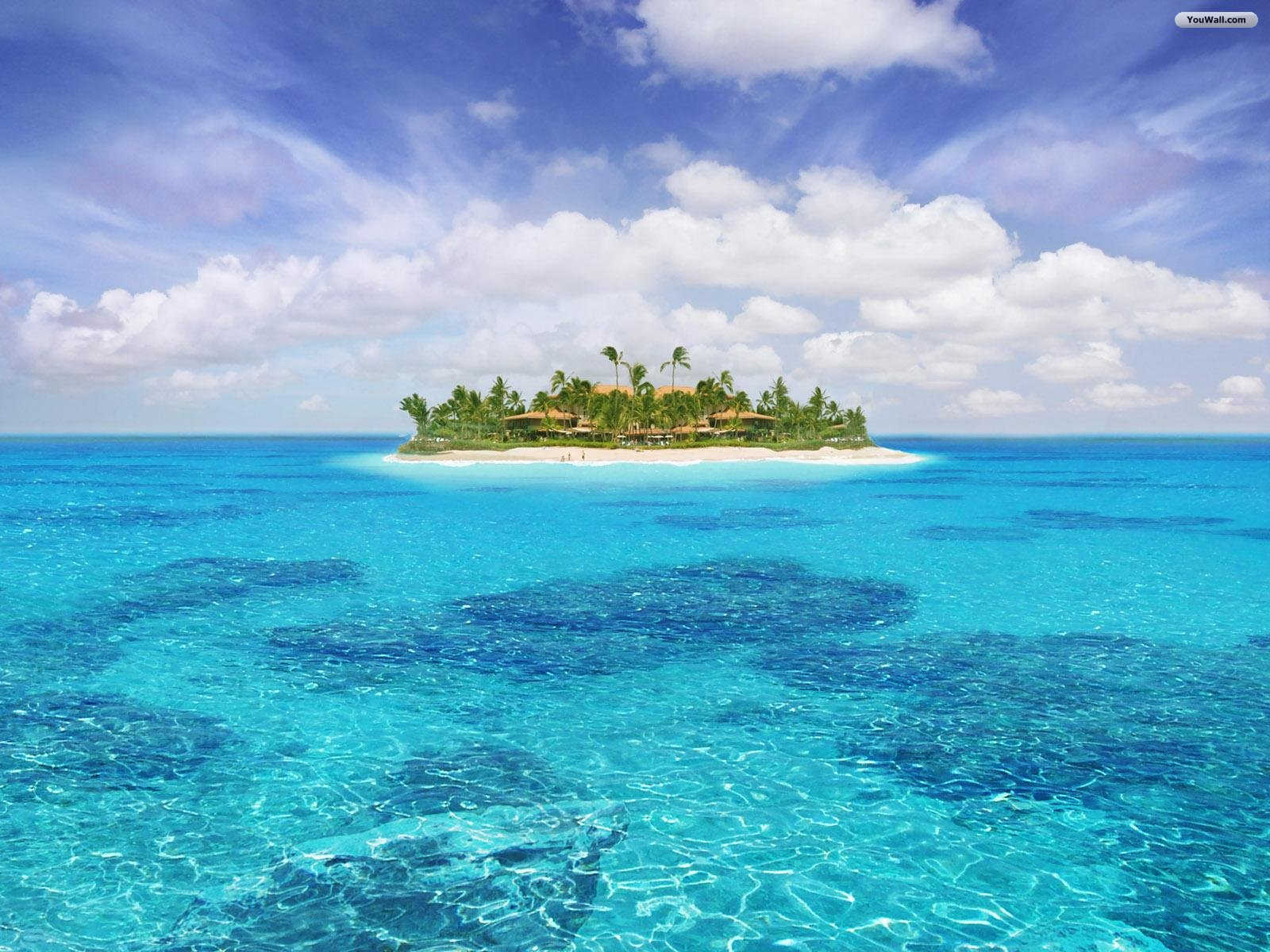 Island HD Wallpaper