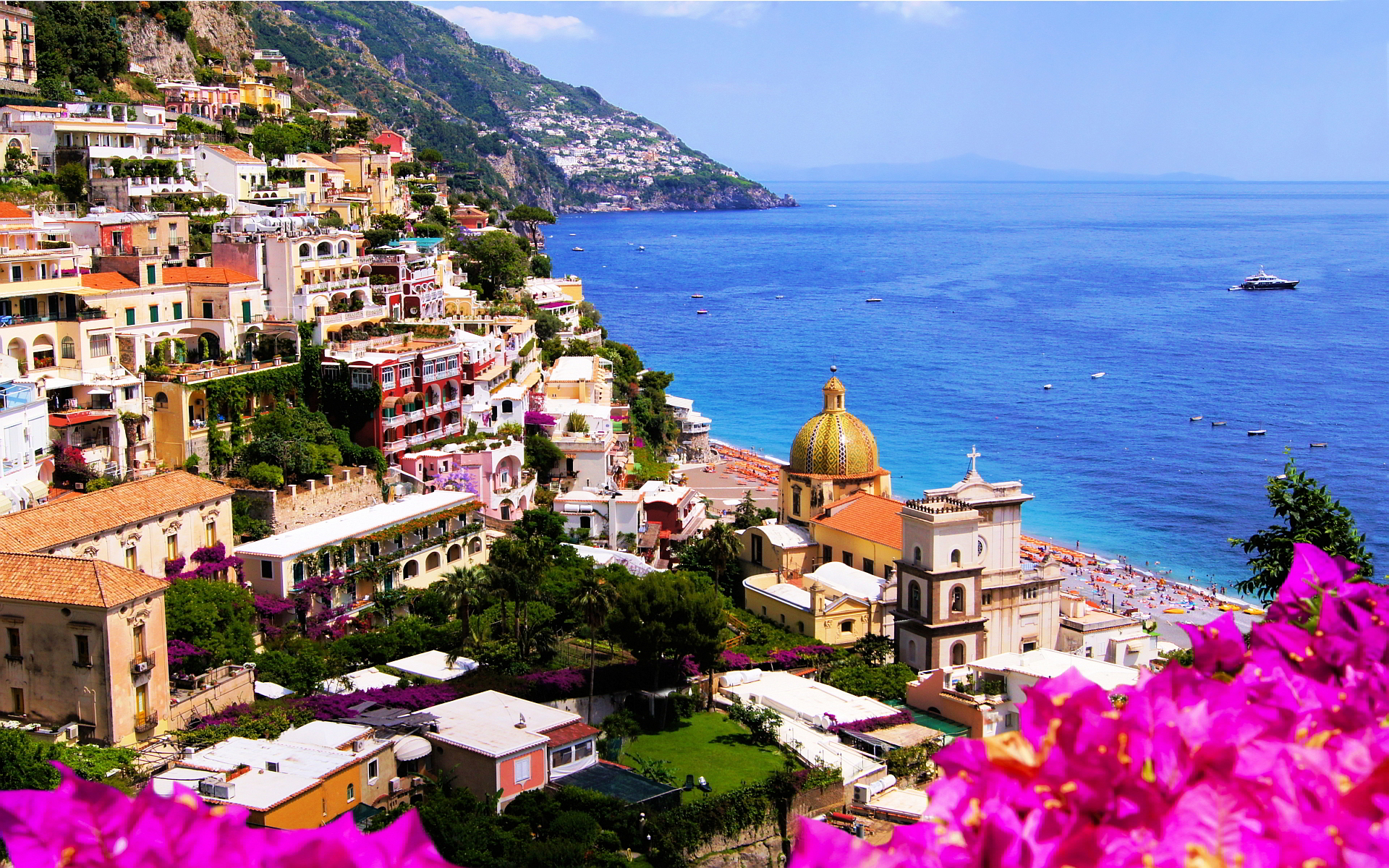Italy Campania Wallpaper Place Beautiful
