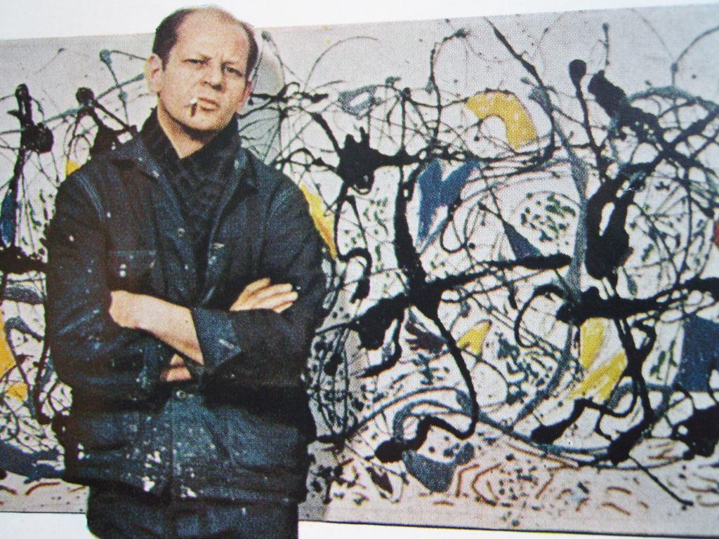 #28Enero #28E 1912 nace Jackson Pollock, pintor estadounidense (f. 1956). http://youtu.be/J1Z2bXWBiYc ...