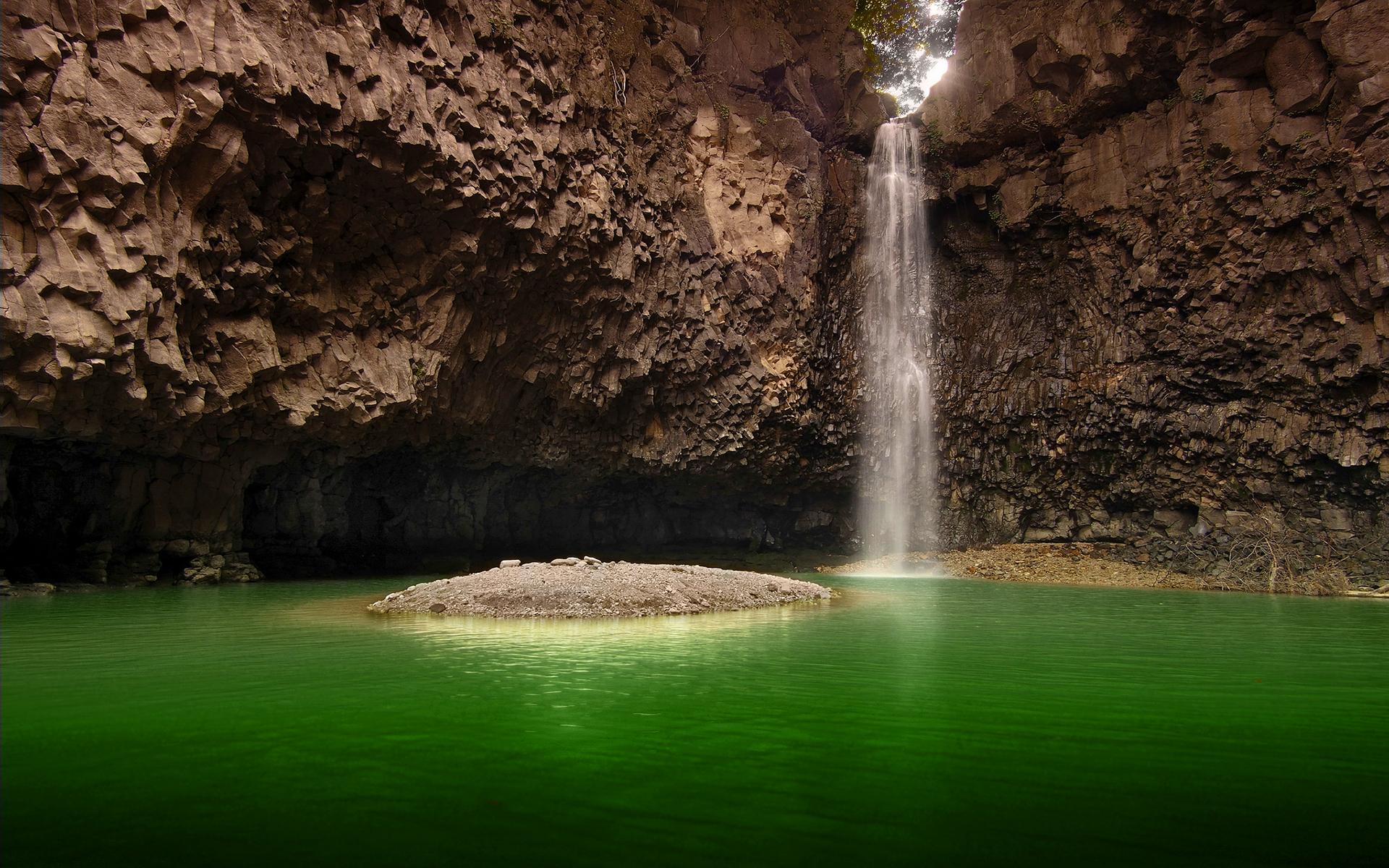 Jaein waterfall south korea