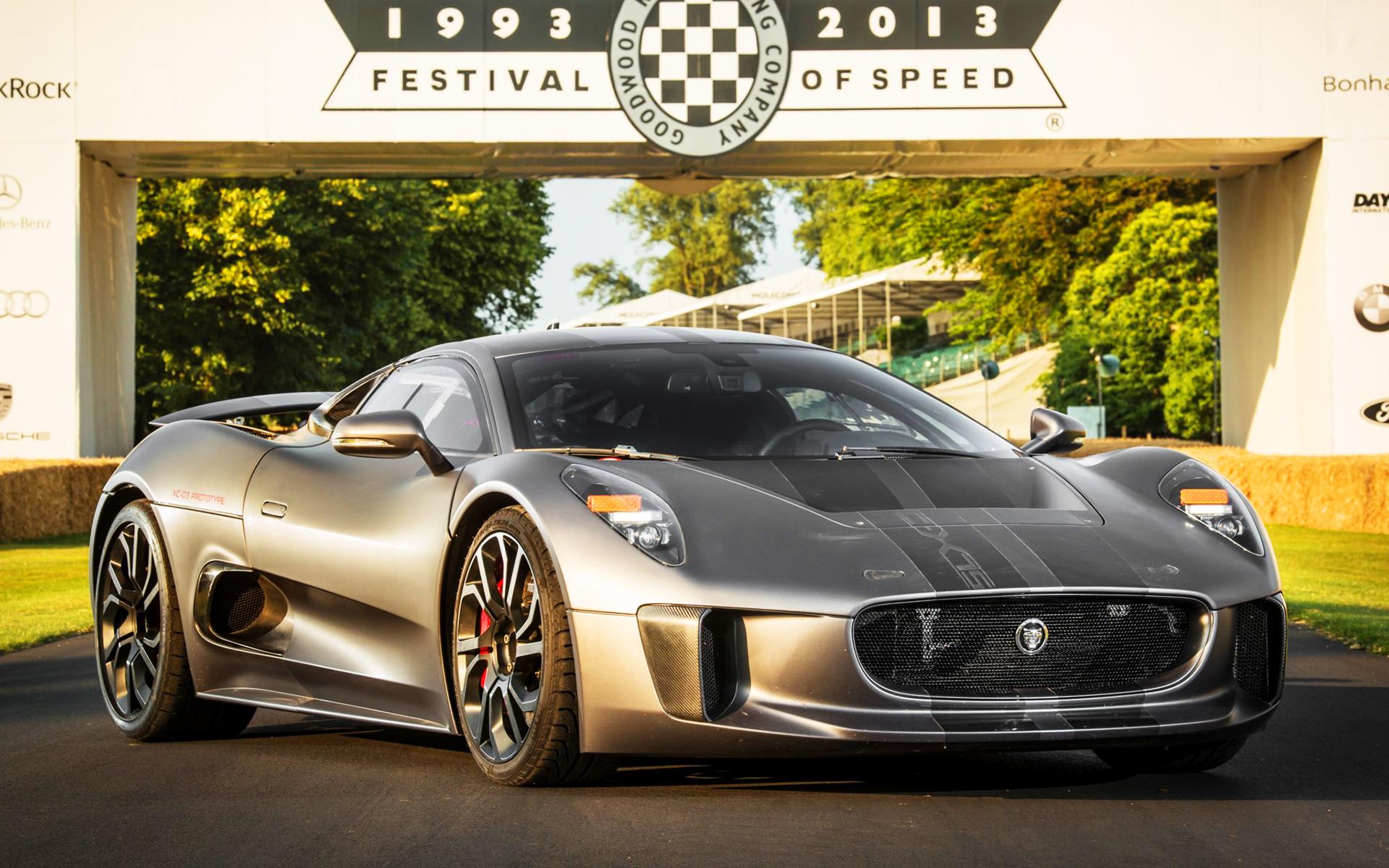 Jaguar c x75 hybrid