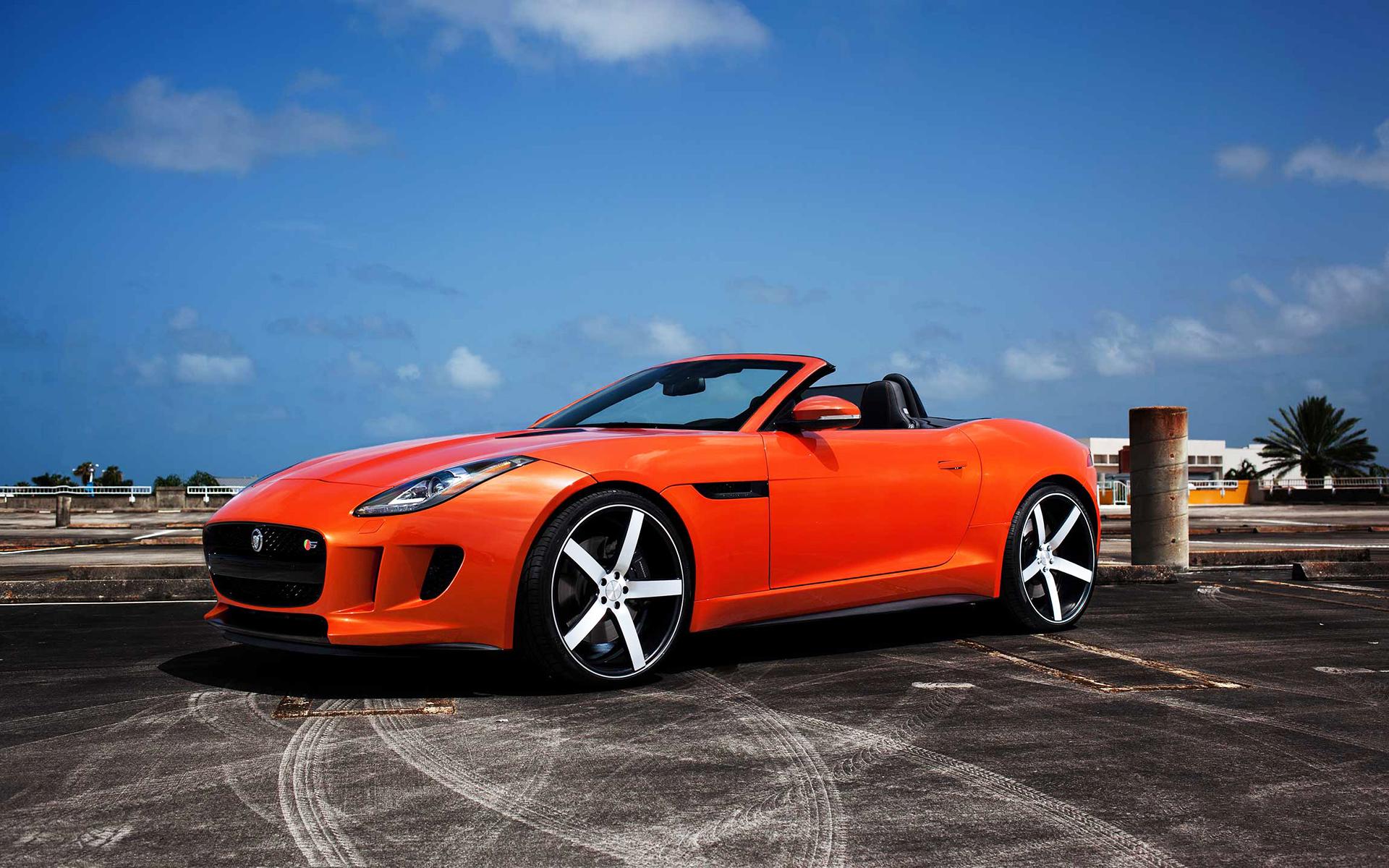 Jaguar f type vossen wheels