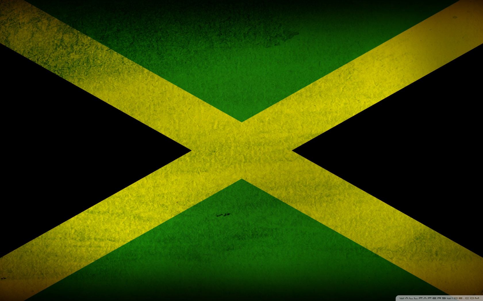 Jamaica Flag Wallpaper