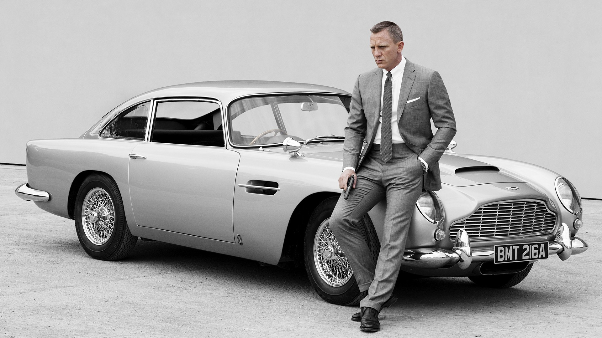 Gold-Plated Model Of James Bond's Aston Martin DB5 Heading To Auction - Pursuitist