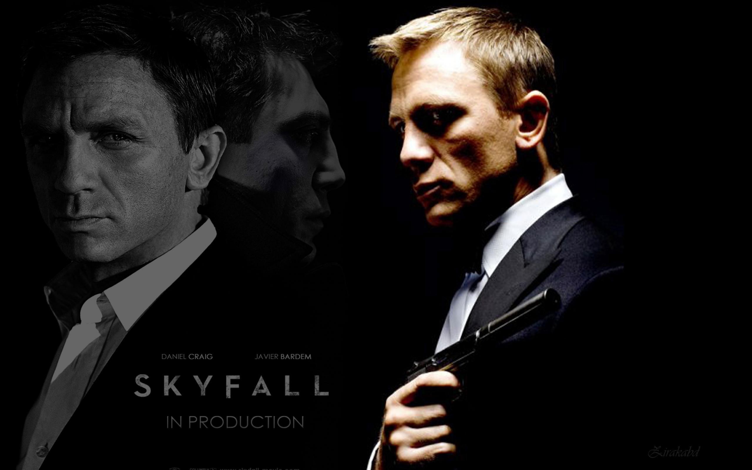 Skyfall-Daniel-Craig-James-Bond-Gun-Wallpaper-Images.jpg (2560×1600) | Masculine | Pinterest