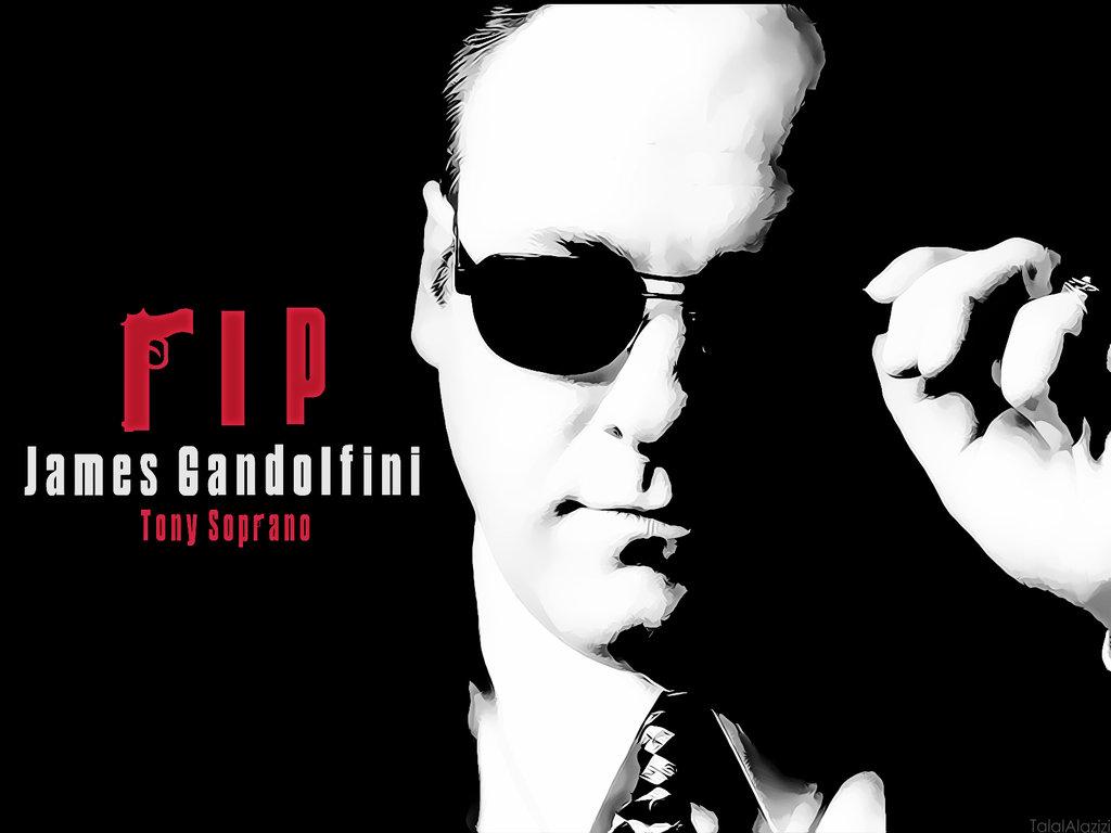 James Gandolfini by TALALHAMDAN