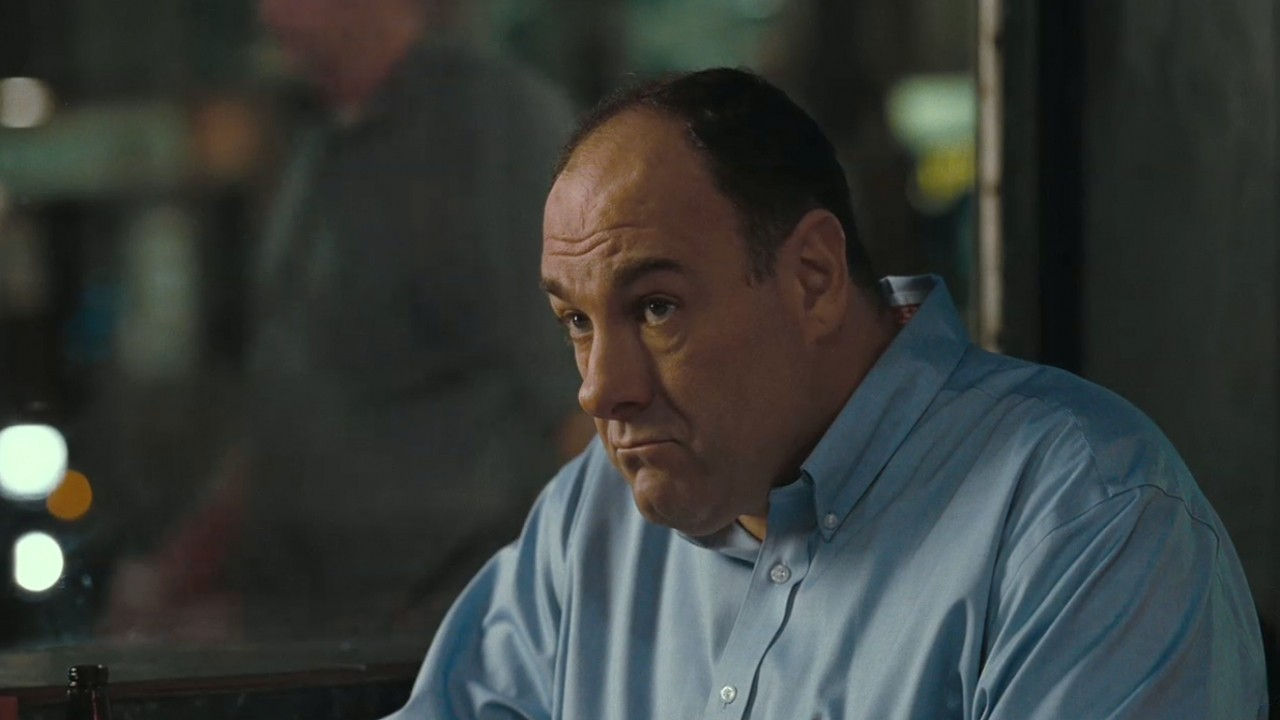 "Photo of James Gandolfini, portraying Doug Riley in ""Welcome to the Rileys""(2010). Source: The Official Trailer"