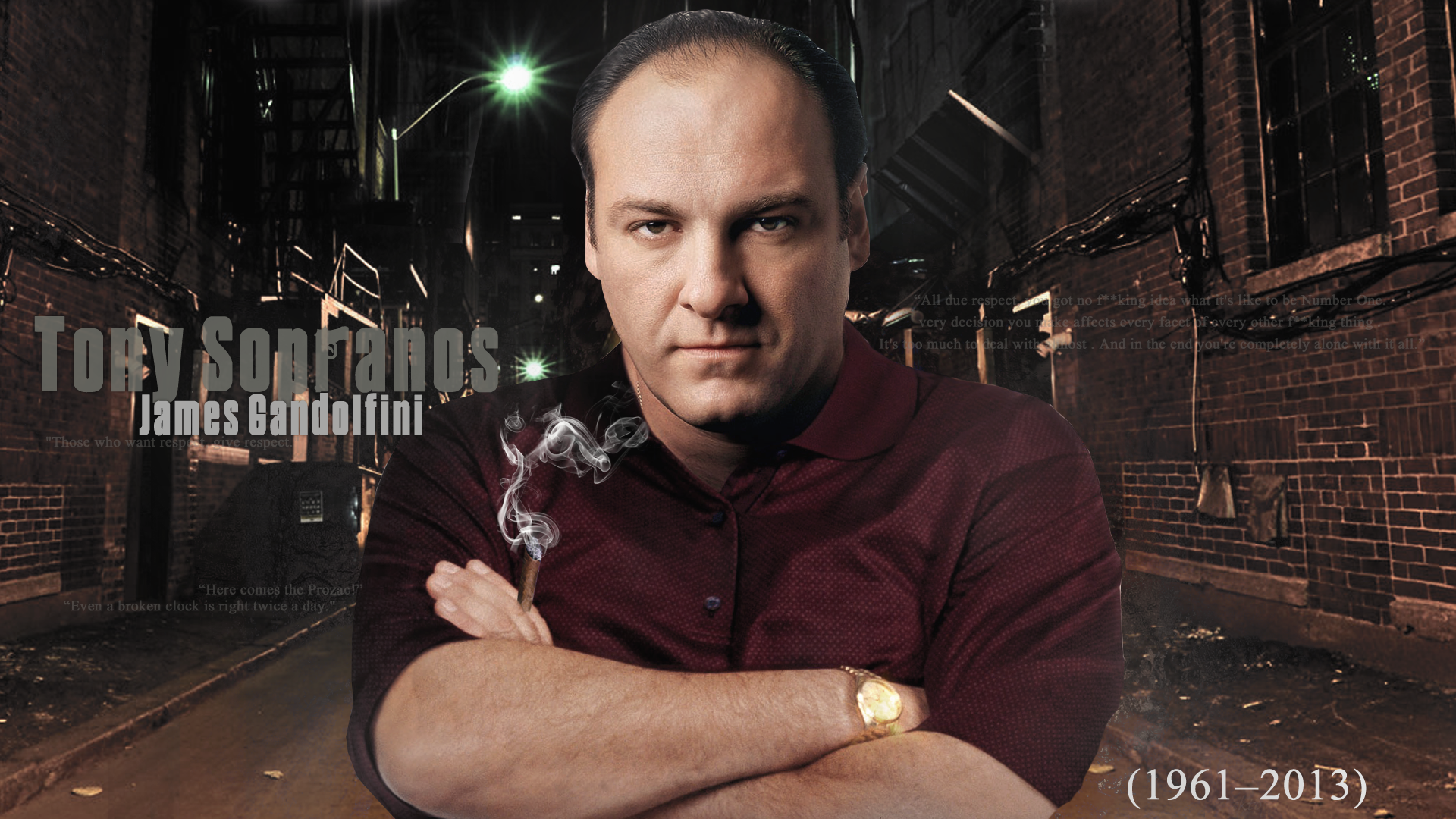 James gandolfini wallpaper 1920x1080 62933 - Sopranos wallpaper ...