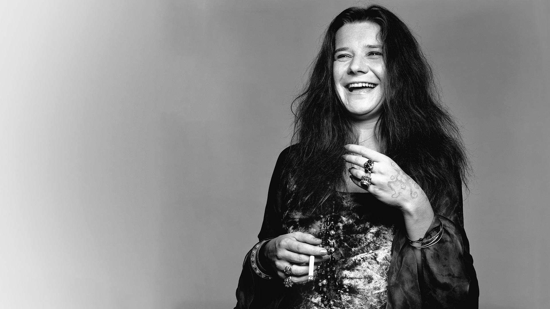 Janis Joplin backdrop wallpaper