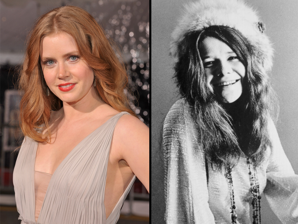 Amy Adams Set to Play Janis Joplin in New Film
