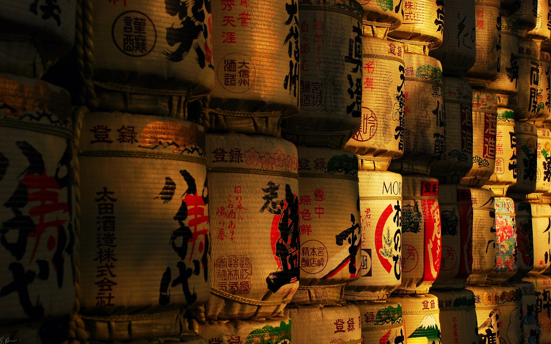 Japan Sake Barrels Photography