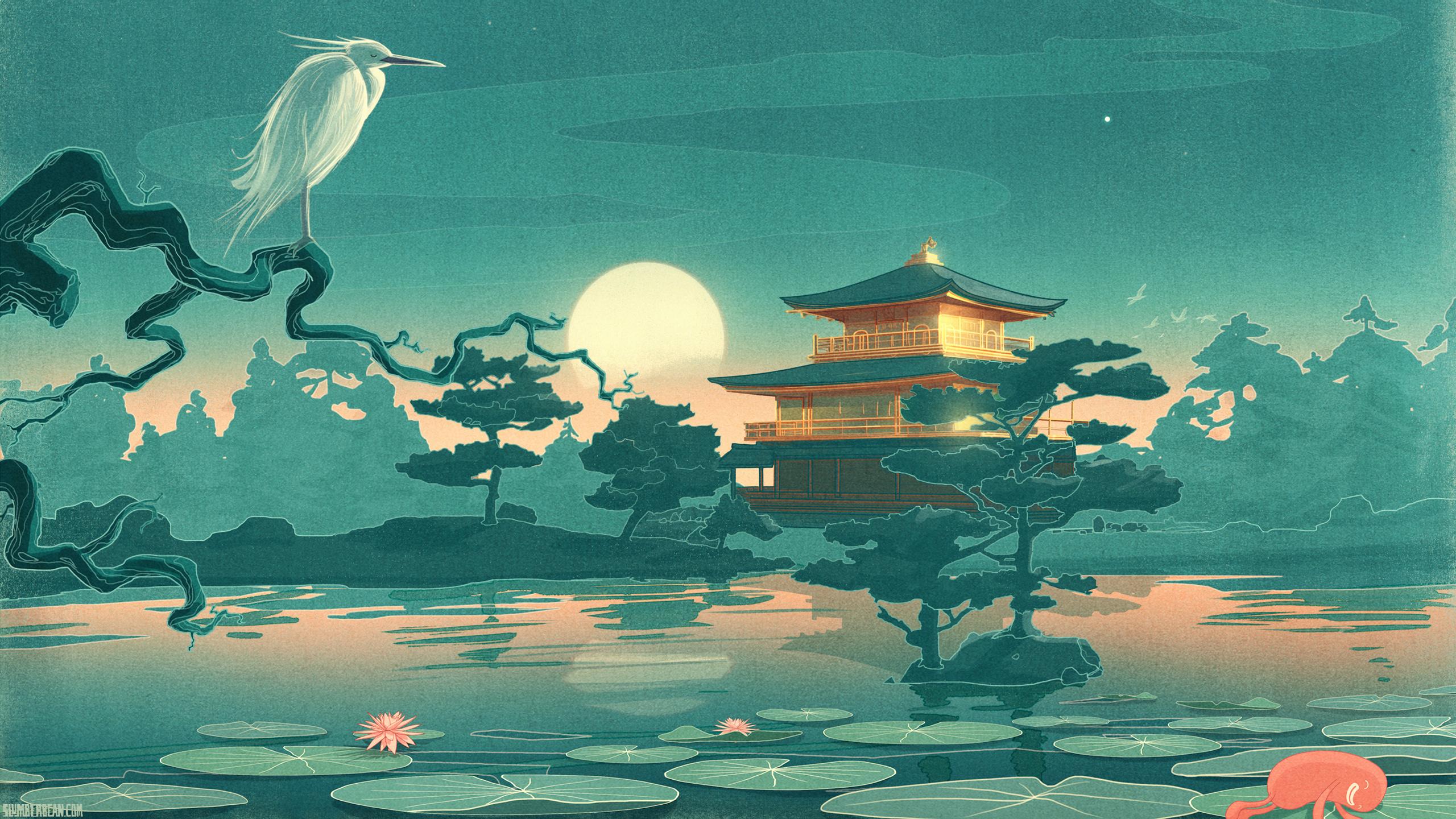 Japanese Art Wallpaper 2560x1440 43823