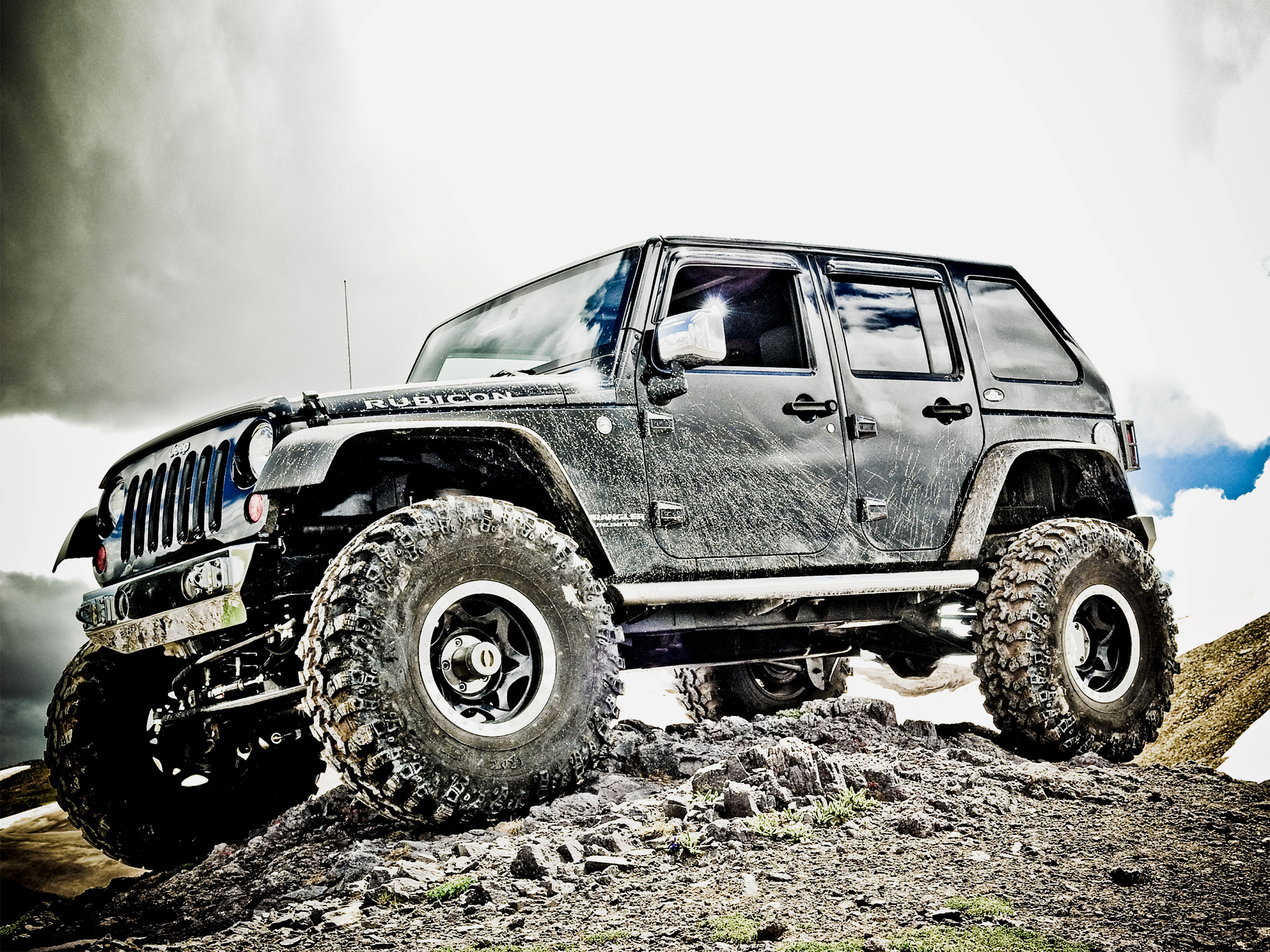 HD Wallpaper of Custom Jeep Rubicon Wallpaper, Desktop Wallpaper Custom Jeep Rubicon Wallpaper