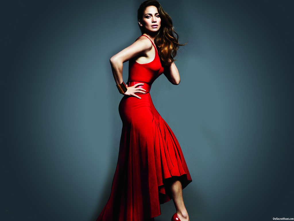 Jennifer Lopez Dress Red
