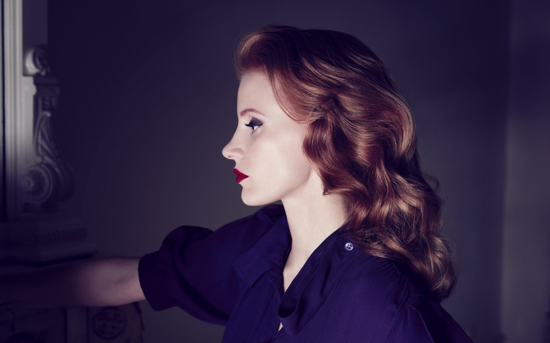 Jessica Chastain Redhead Actress