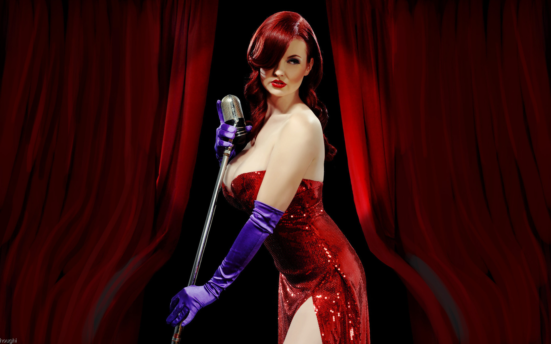 The Real Jessica Rabbit wallpaper
