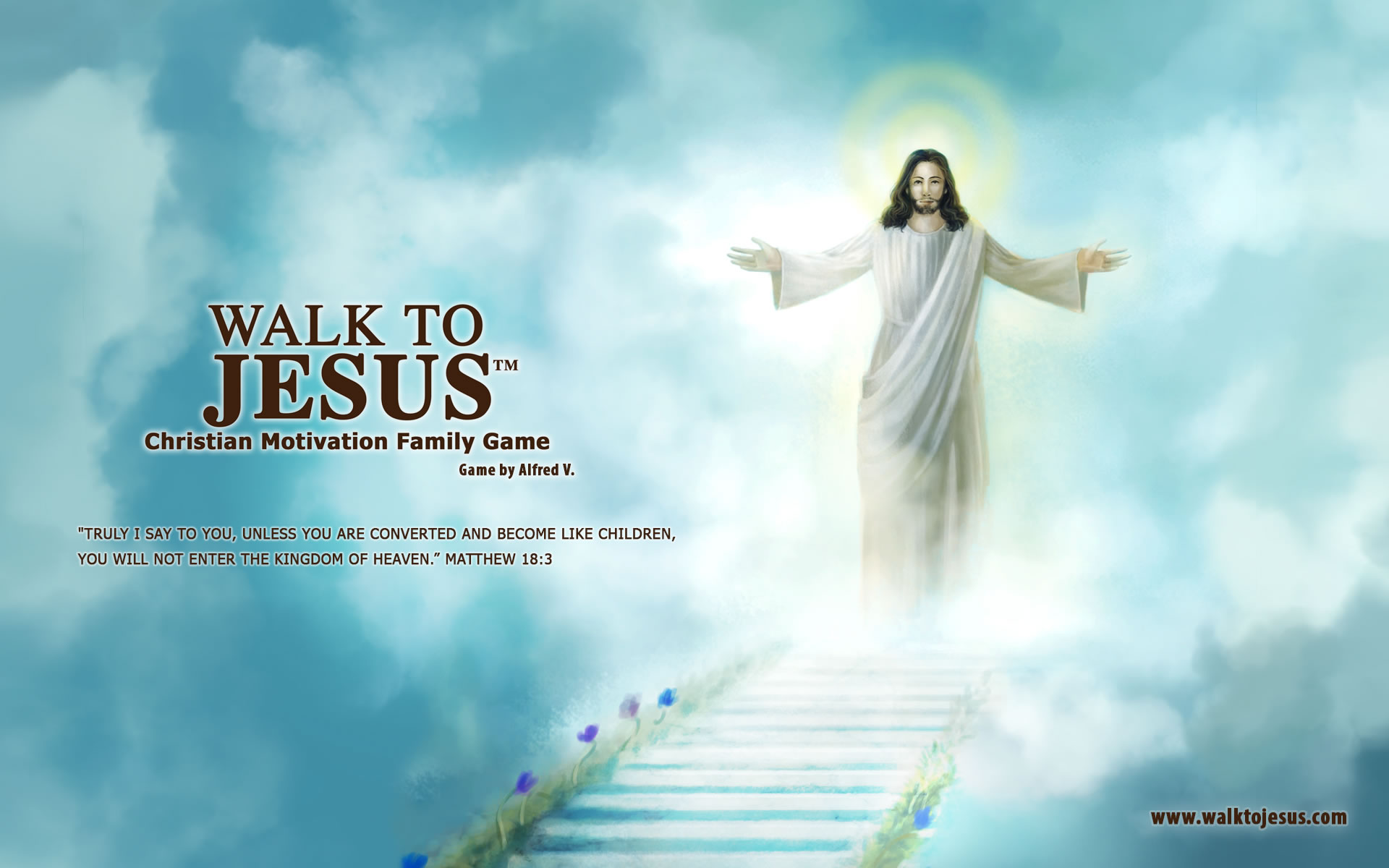 Walk to Jesus – Walpaper No 2