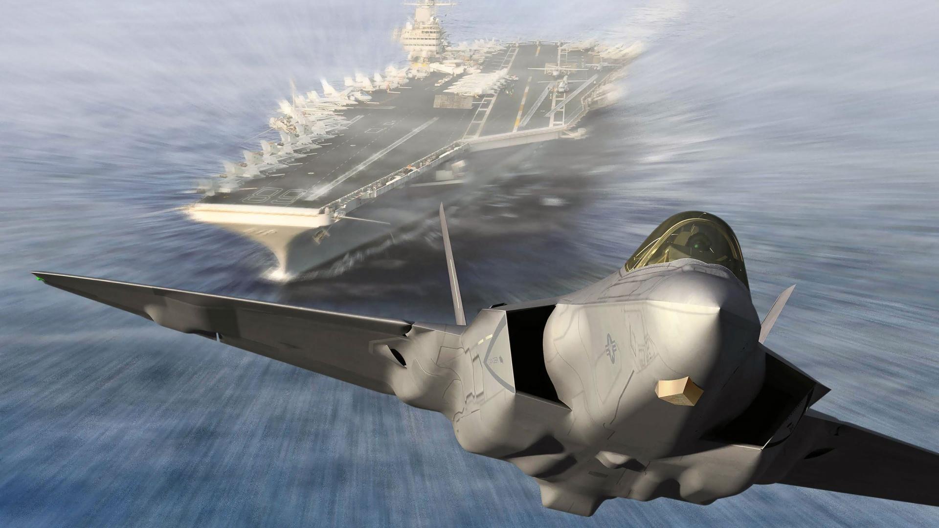 Jet Aircraft Carrier