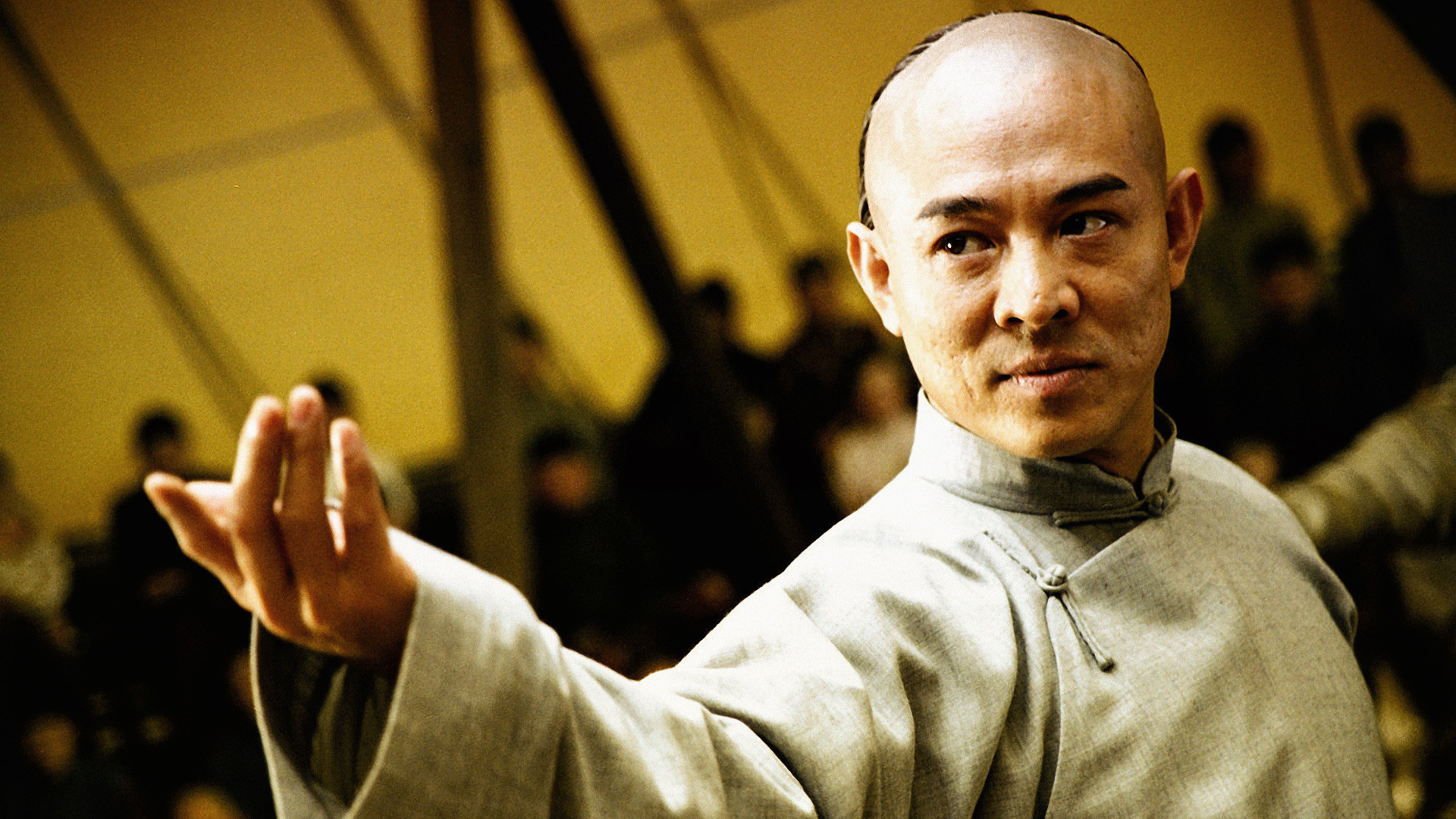 original wallpaper download: Kung fu master Jet Li - 1920x1080