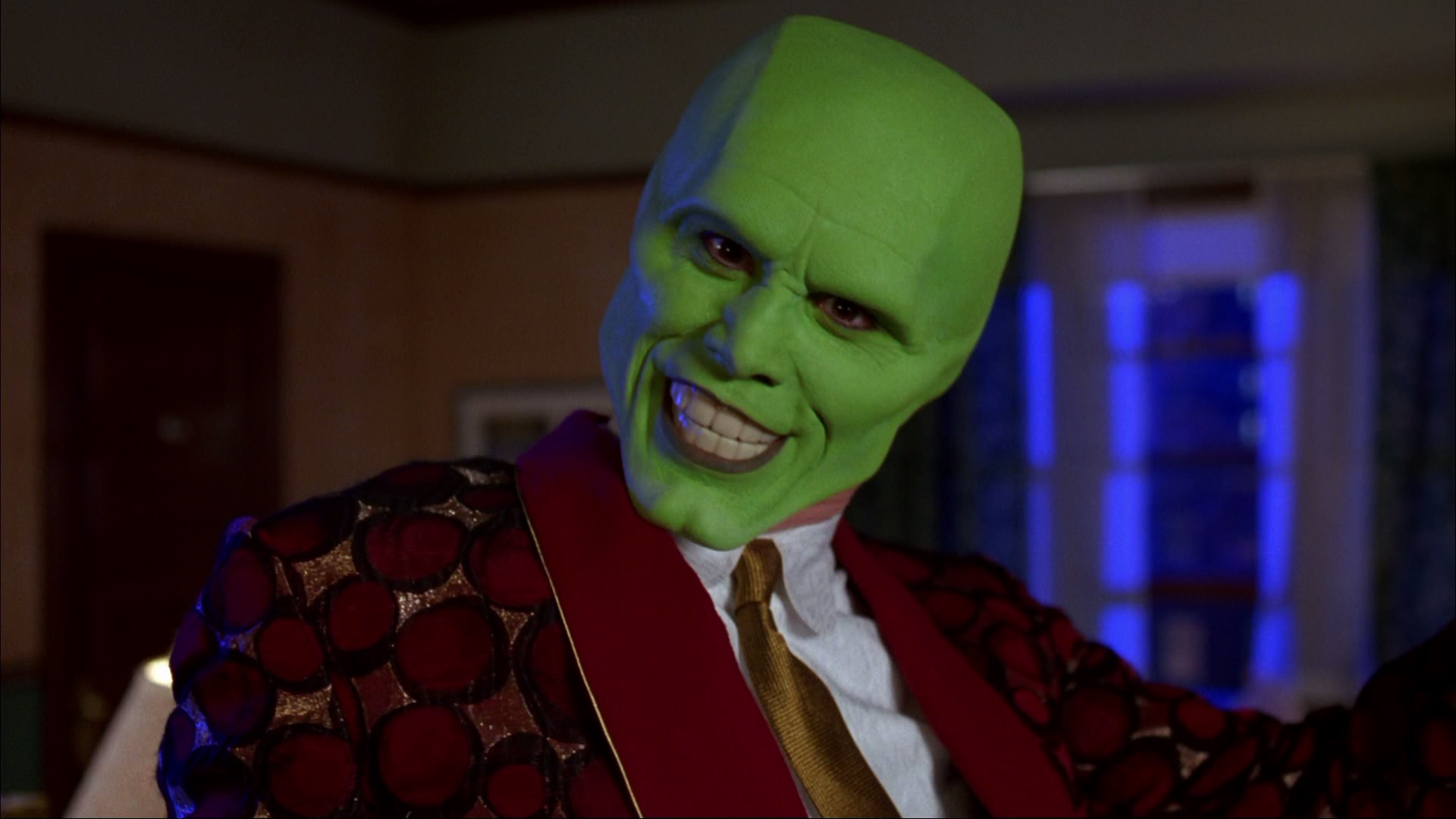 Jim Carrey in The Mask. Sourced from http://www.dvdbeaver.com