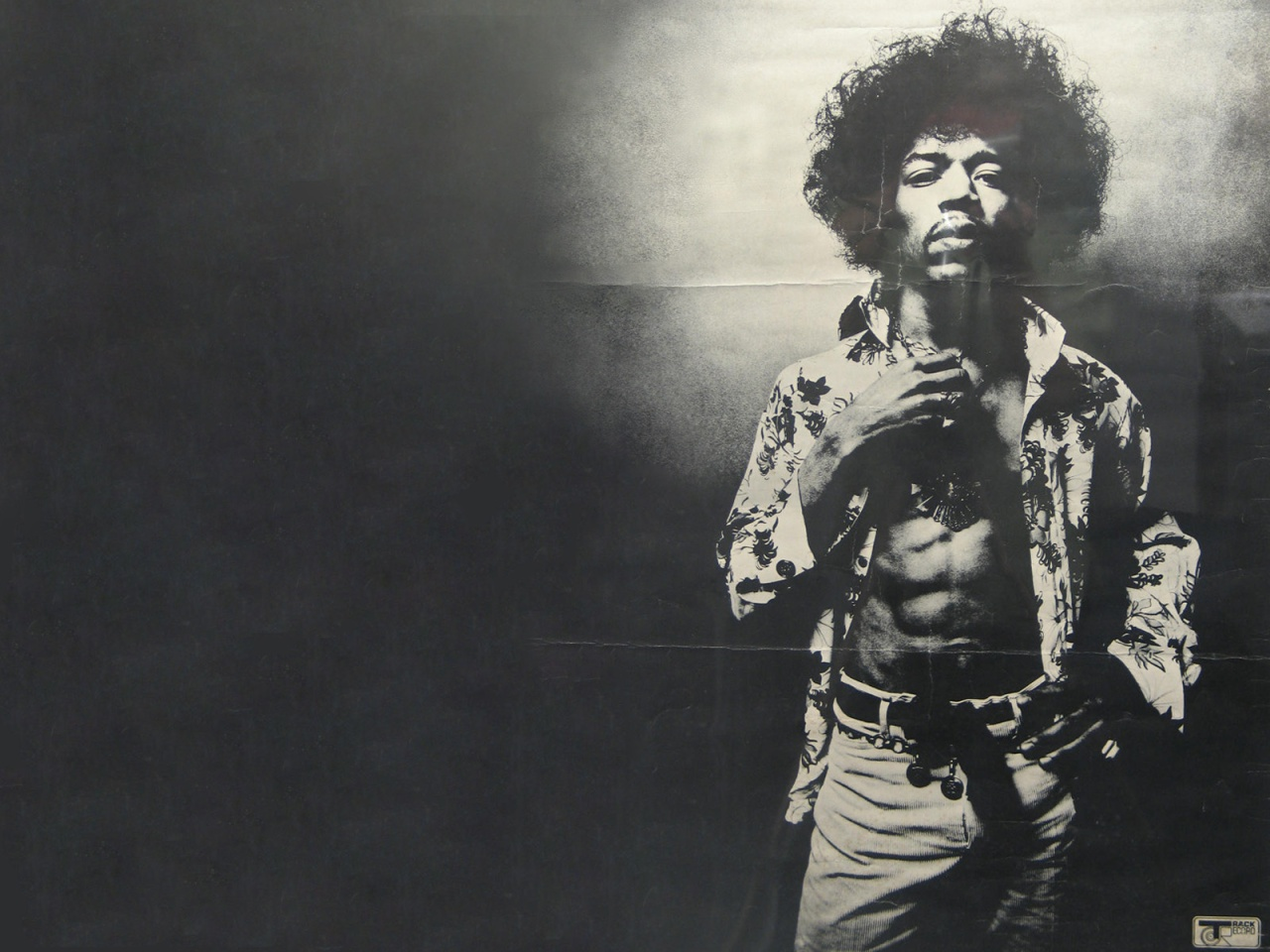 Papyleblues Jimi Hendrix Desktop Wallpaper