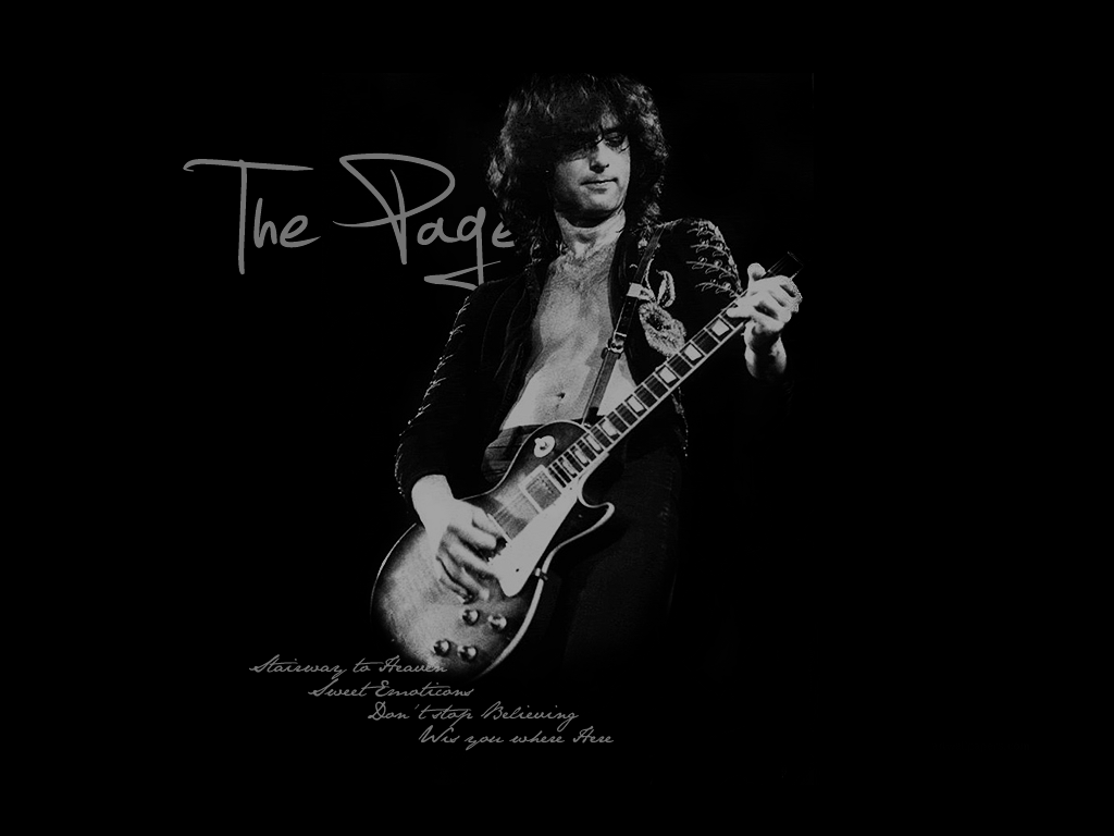 Jimmy Page - Wallpaper by AaronvdW ...