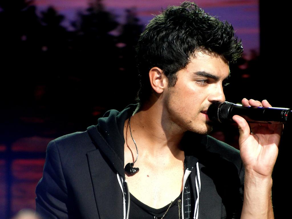 Jonas performing live in 2010