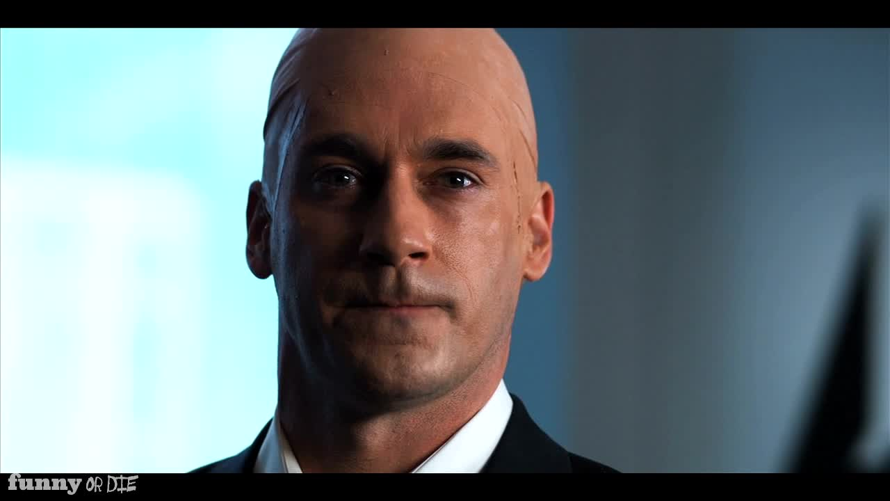 """Lex Luthor Bailout"" with Jon Hamm. """