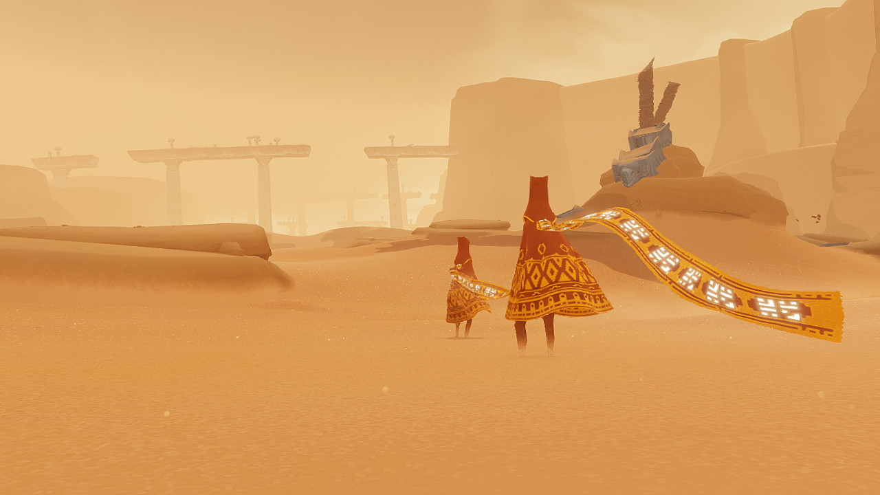Journey PlayStation 3. Screenshots