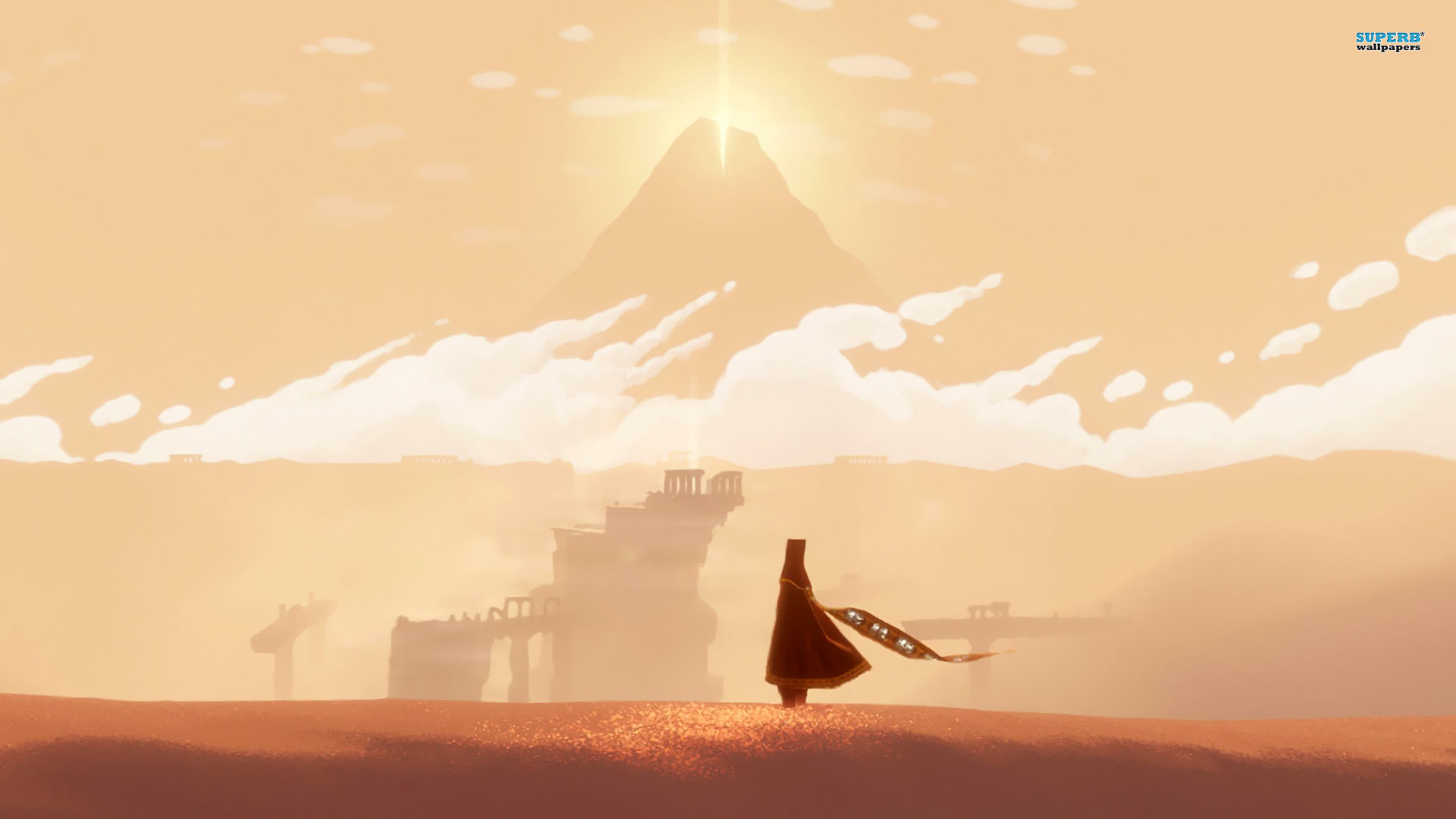 Journey Game Wallpaper