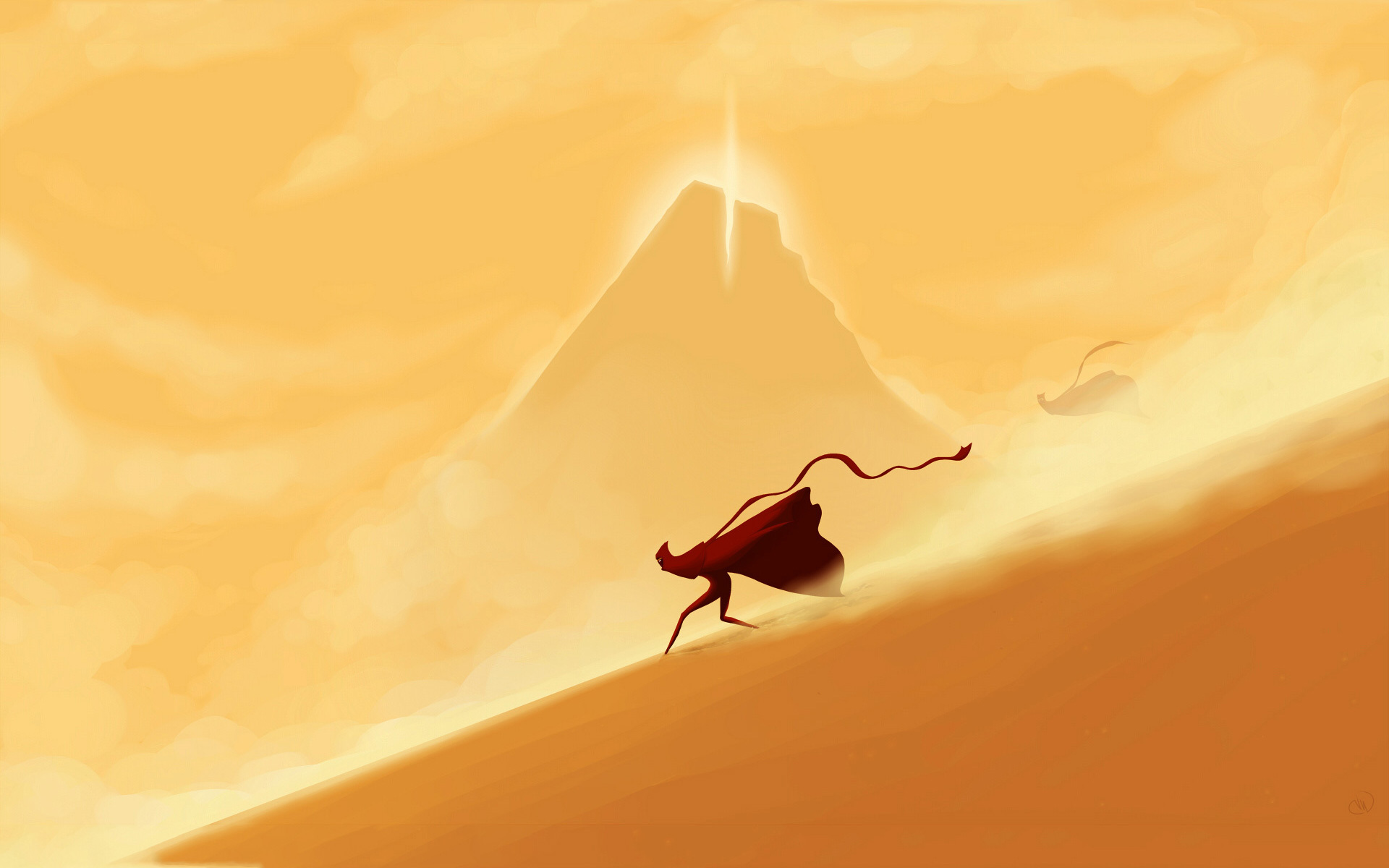 Journey Game Wallpaper